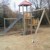 Mehrfachgeräte Spielplatz