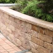 Vermont Bruchsteinmauer